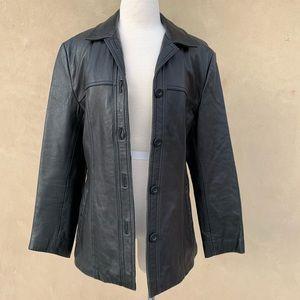 Wilson Pelle Studio 100% Leather Lined Coat
